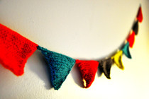 Cozy Colorful Bunting