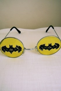 Lace Bat Glasses
