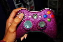 Glitter Xbox360 Controller
