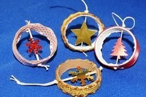Recicled Christmas Ornaments