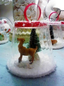 Snowglobe Type Ornament