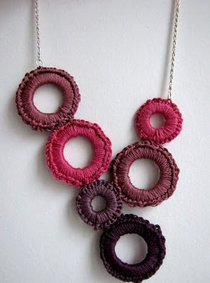 Crocheted Delight Necklace