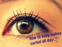 How To Keep Lashes Curled All Day