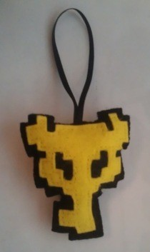 Boss Key Felt Christmas Decoration
