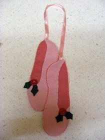 Ballet Slipper Christmas Decoration