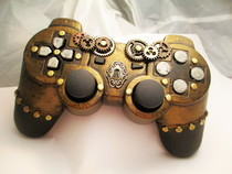 Steampunk Ps3 Controller