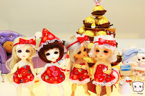 Japanese Inspired Christmas Costumes For My Dolls.