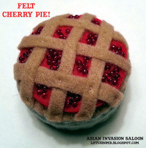 Felt Cherry Pie
