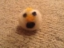 2 Faced Snowman Needle Felting