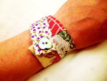Patchwork Fabric Frienship Bracelet