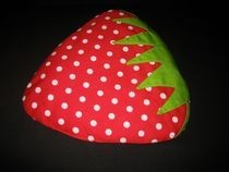 Strawberry Grain Pillow