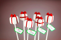 Pretty Presents Cake Pops