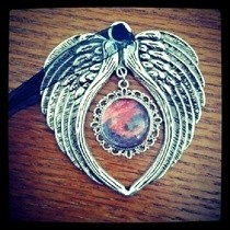 Gothic Wing Necklace