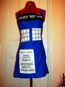Tardis Apron