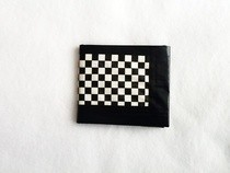 Checkered Duct Tape Wallet