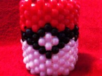 Pokeball Kandi Cuff