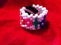 Blood On The Dance Floor Kandi Cuff