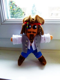 Jack Sparrow Plushie