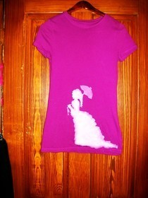 Strolling Lady Tee Shirt