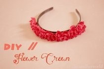 Diy Flower Crown / Headband