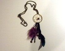 Elegant Dreamcatcher Necklace