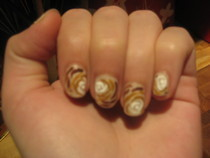 Rose Nail Art 
