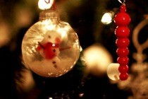 Christmas Scene Bauble