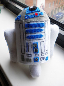 My Felt Handmade R2 D2 