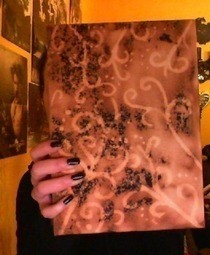 Bleached Book Cover/Photo Album Cover