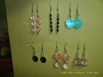 Bunches Of Feminine Dangly Earrings