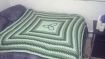 """Celtic"" Inspired Afghan"