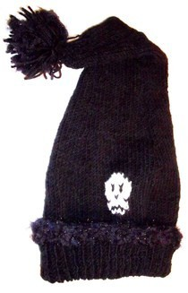 Winter Skull Hat