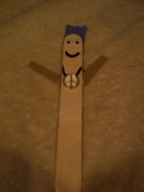 Popsicle Stick Man (Or Woman)