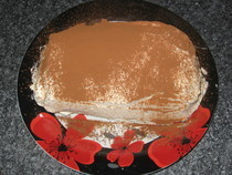 Tiramisu Layer Cake