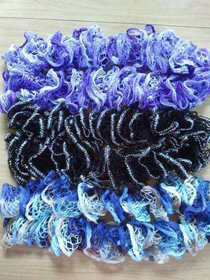 Knitted Ruffle Scarves