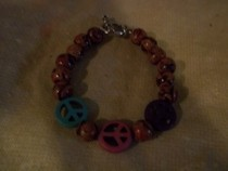 Peace Sign Bracelet