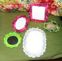 Crochet Photo Frames