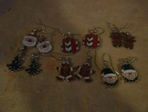 Christmas Charm Earrings