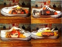 Naruto Shoes (First Try)