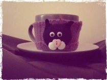 Cat Teacup Cosy