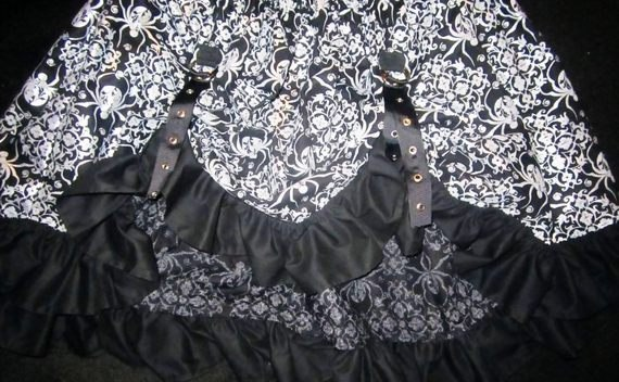 Steampunk Bustle Skirt