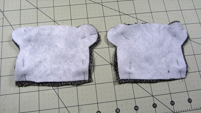 How to sew a fabric animal pouch. Bear Coin Purse - Step 5