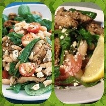Balsamic Chicken & White Bean Salad