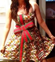 Christmas Present Costume Dress