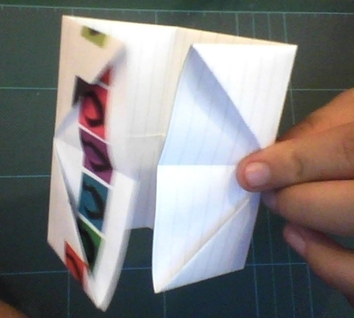 How to make a pencil pot. Origami Pencil Holder - Step 3