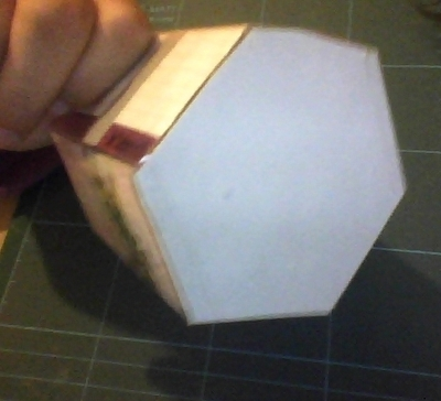 How to make a pencil pot. Origami Pencil Holder - Step 5