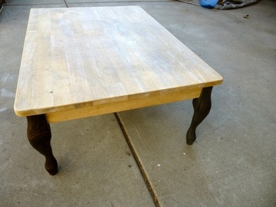 How to make a coffee table. Tentacle Table Top - Step 1