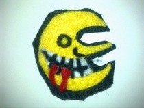 Soul Eater Moon Felt Badge