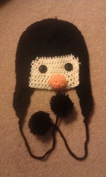 Penguin Hat Xd