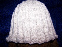 Wool Cable Hat